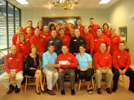 Indian Summer Camp Receives $3,750 Donation