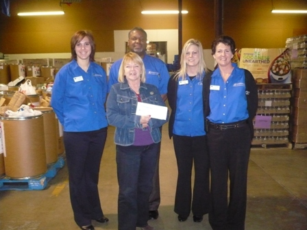The Foodbank, Inc. Receives $2,700 Donation