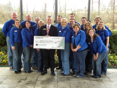 MANNA Foodbank Receives $10,000 Donation