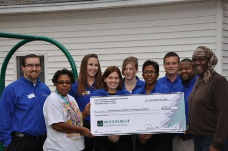 Palmetto Place Children's Emergeny Shelter Receives $2,000 Donation