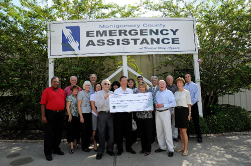 Montgomery County Emergency Assistance Receives $10,000 Contribution