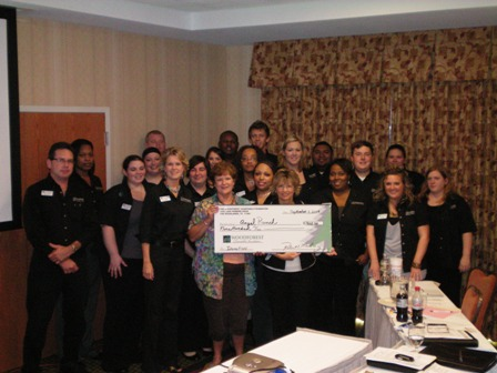 Angel Ranch Receives $900 Donation