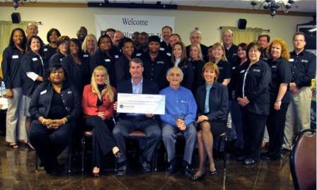 The King's Ranch and Hannah Homes Receives $3,150 Donation (Nov '09)