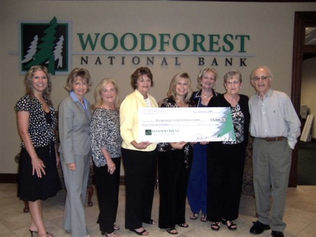 Montgomery County Women's Center Receives $5,000 Contribution