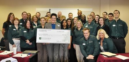 Harvest Hope Food Bank Receives $2,000 Donation