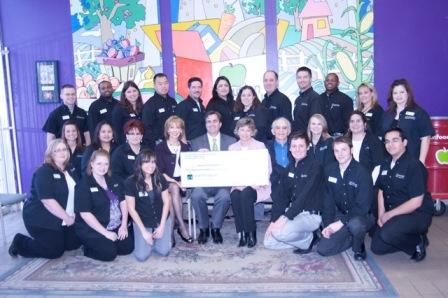 Houston Food Bank Receives $30,000