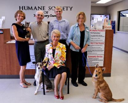 Montgomery County Humane Society Receives Donation