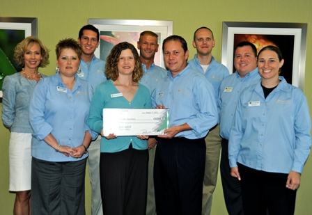 God's Pantry Food Bank Receives $4,000 Donation