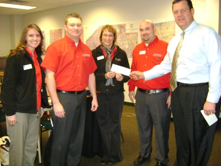 Food Bank of Western New York Receives $350 Donation