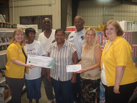 Montgomery Area Food Bank Receives $1,500 Donation