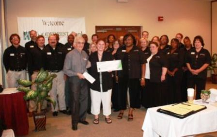 United Way Community Food Bank Receives $2,100 Donation