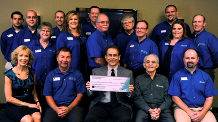 Gleaners Food Bank of Indiana Receives $5,000 Donation