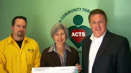 ACTS Receives $1,000 Donation