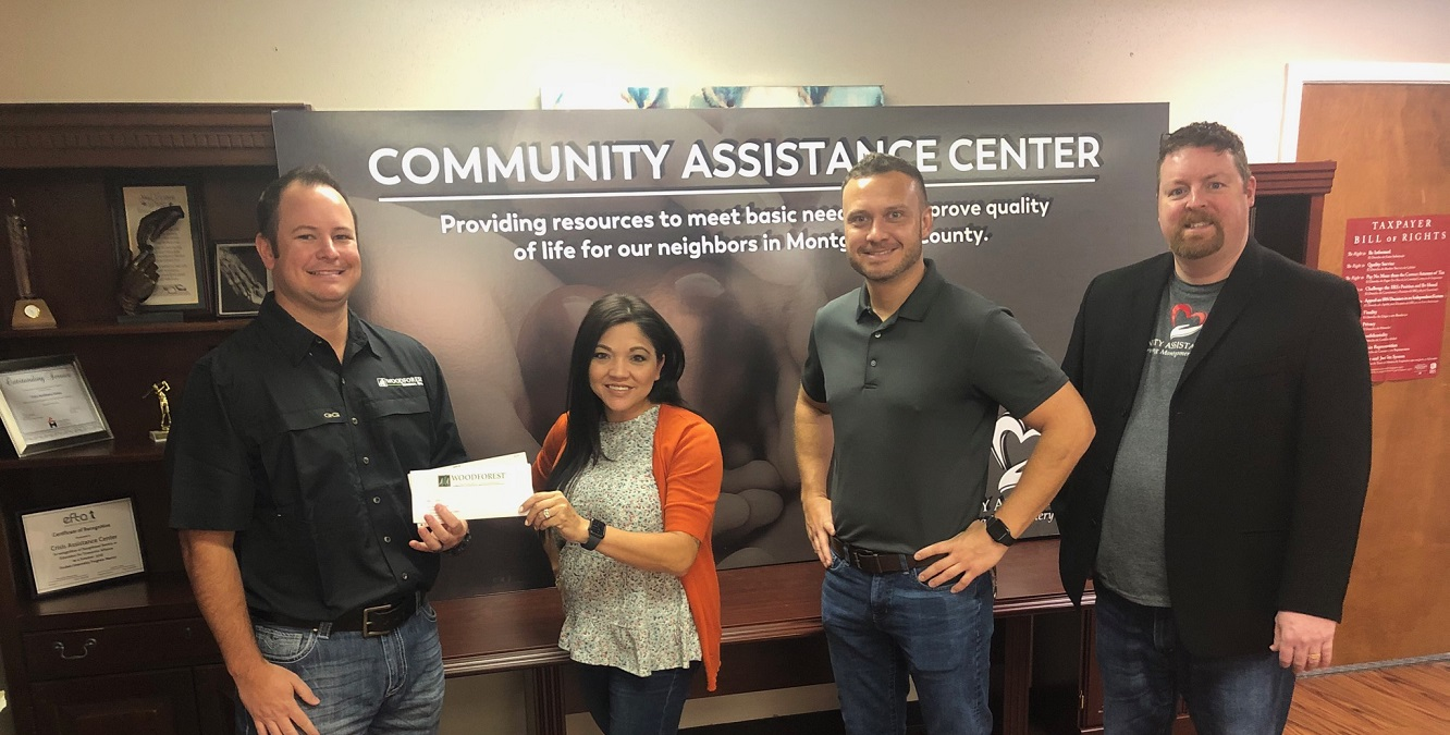 Community Assistance Center recently received a $30,000 donation from WCF.