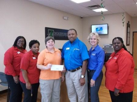 Food Bank of Central Louisiana receives $230 donation from WCF.