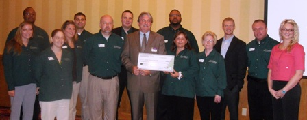 Central Virginia Food Bank receives $5,920 donation from Woodforest Charitable Foundation.