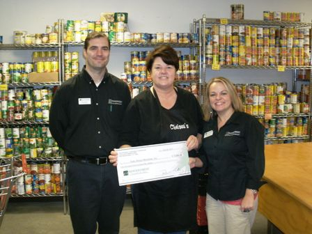 Daily Bread Ministries Receives $1,550 Donation
