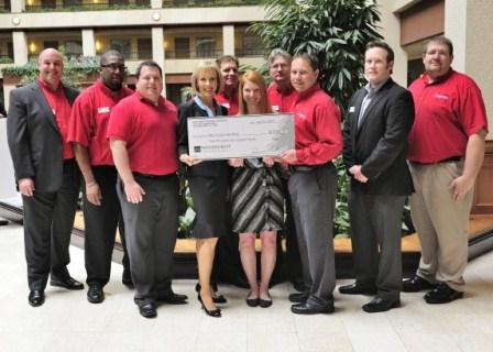 Dare to Care Food Bank receives $3,220 donation from Woodforest Charitable Foundation.