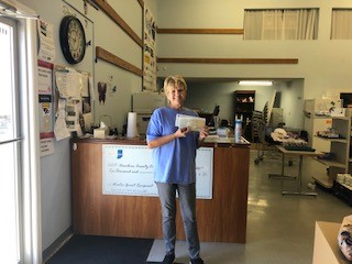 Dearborn County Clearinghouse recently received a $780 donation from WCF.