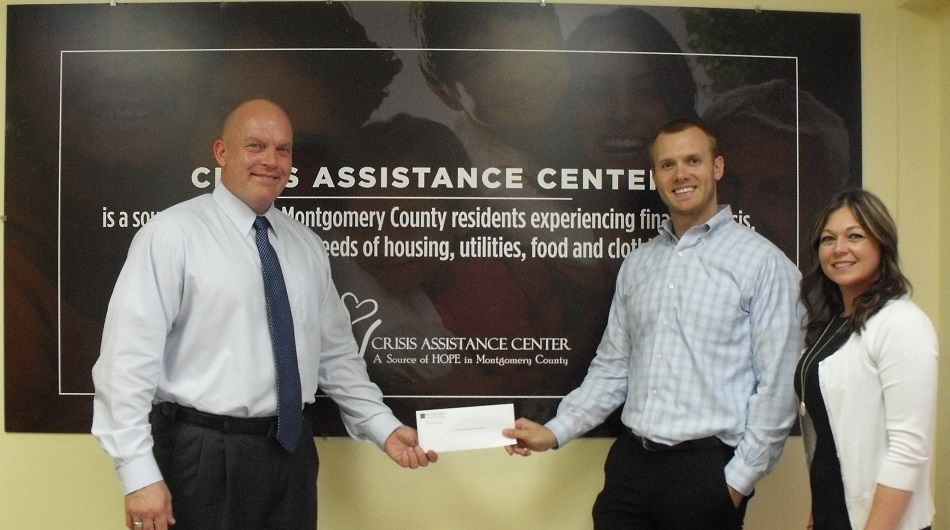 Crisis Assistance Center recently received a $48,000 donation from WCF