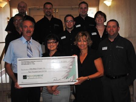 Elks Major Project, Inc. Receives $2,000 Donation