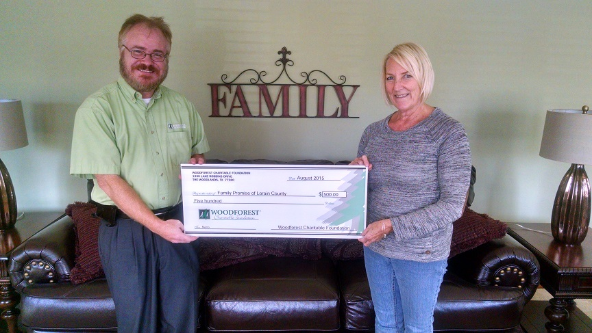 Family Promise of Lorain County received $500 from WCF.