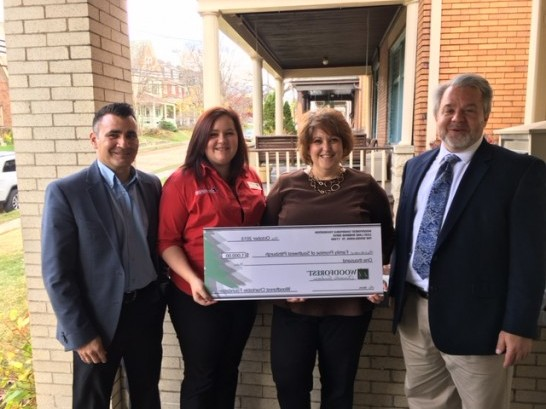 Family Promise of Southwest Pittsburgh recently received $1,000 from WCF.
