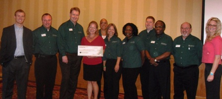 Foodbank of the Virginia Peninsula Receives $2,750 Donation
