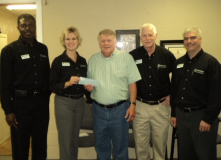 Foodbank of Northeast Louisiana Receives $600 Donation