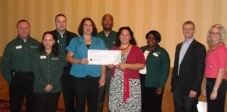 Fredericksburg Area Food Bank Receives $2,200 Donation