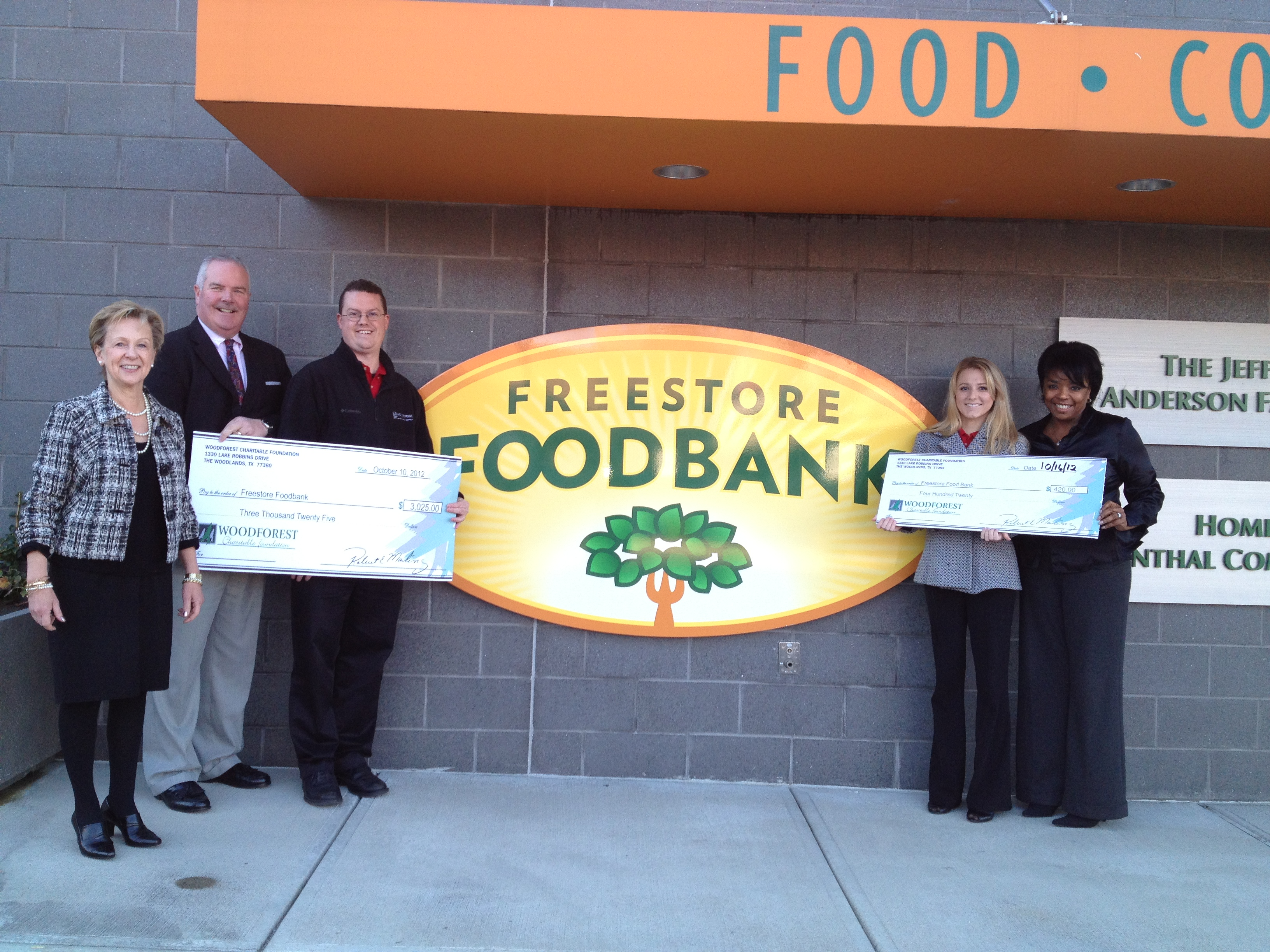 Freestore Foodbank receives $420 donation from WCF.