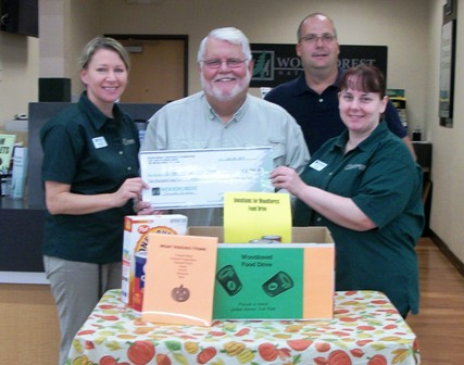 Golden Harvest Food Bank Receives $2,100 Donation