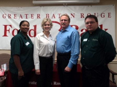 Greater Baton Rouge Food Bank Receives $400 Donation