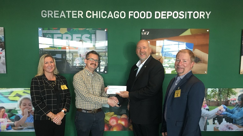 Greater Chicago Food Depository received a $1,000 donation from WCF.