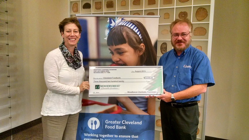 Cleveland Food Bank received $3,220 from WCF.