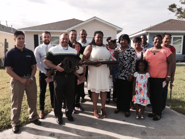 Habitat for Humanity Northwest Harris County completes Woodforest Home.
