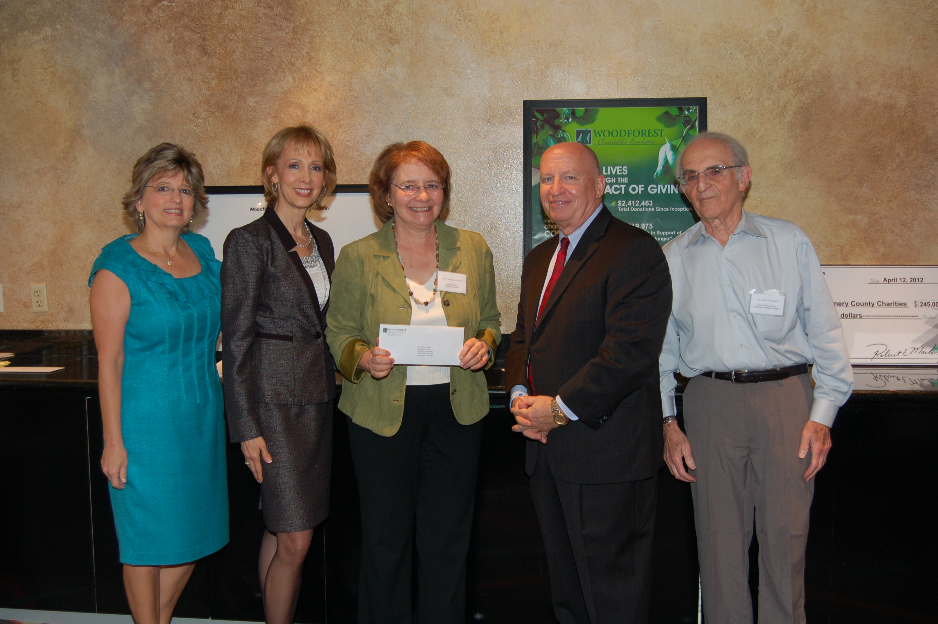Habitat for Humanity – Montgomery County receives $25,000 donation from WCF.