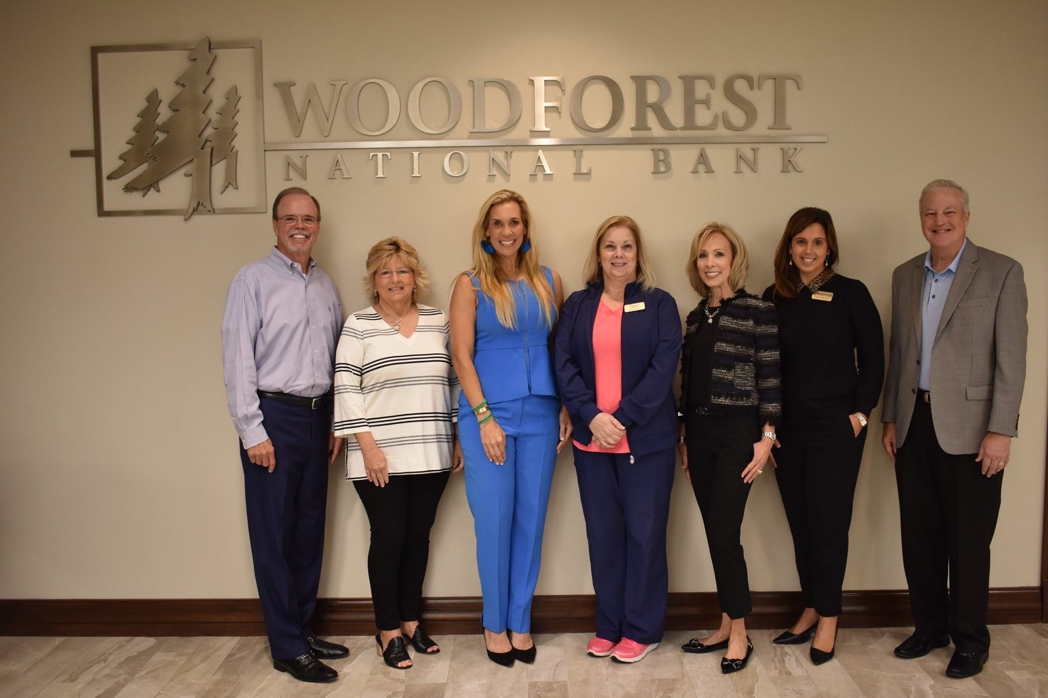 Woodforest Charitable Foundation recently donated $10,000 to Interfaith Community Clinic