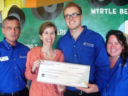 Lowcountry Food Bank Inc. Receives $1,550 Donation