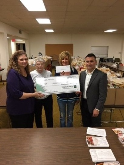 Lower Vally Cooperative Ministries recevied $1,105 from WCF.