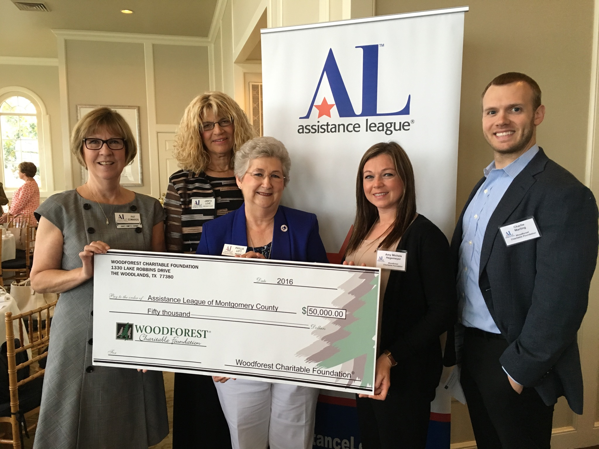 Montogmery County Assistance League receives $50k