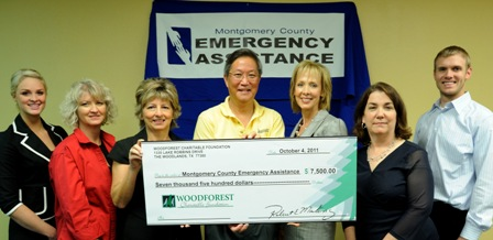 Montgomery County Emergency Assistance Receives $10,000 Donation