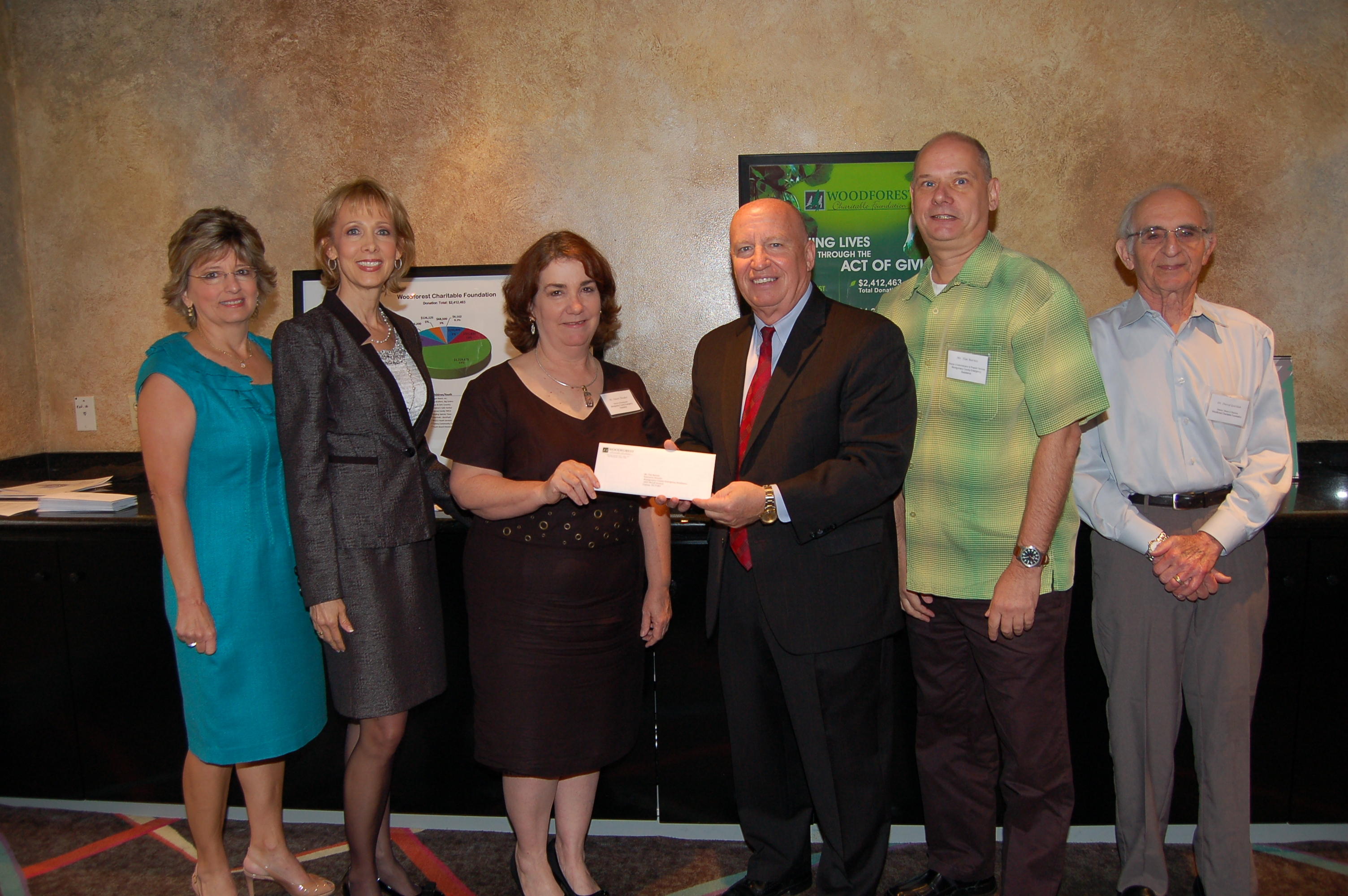 Montgomery County Emergency Assistance receives $10,000 donation from WCF.