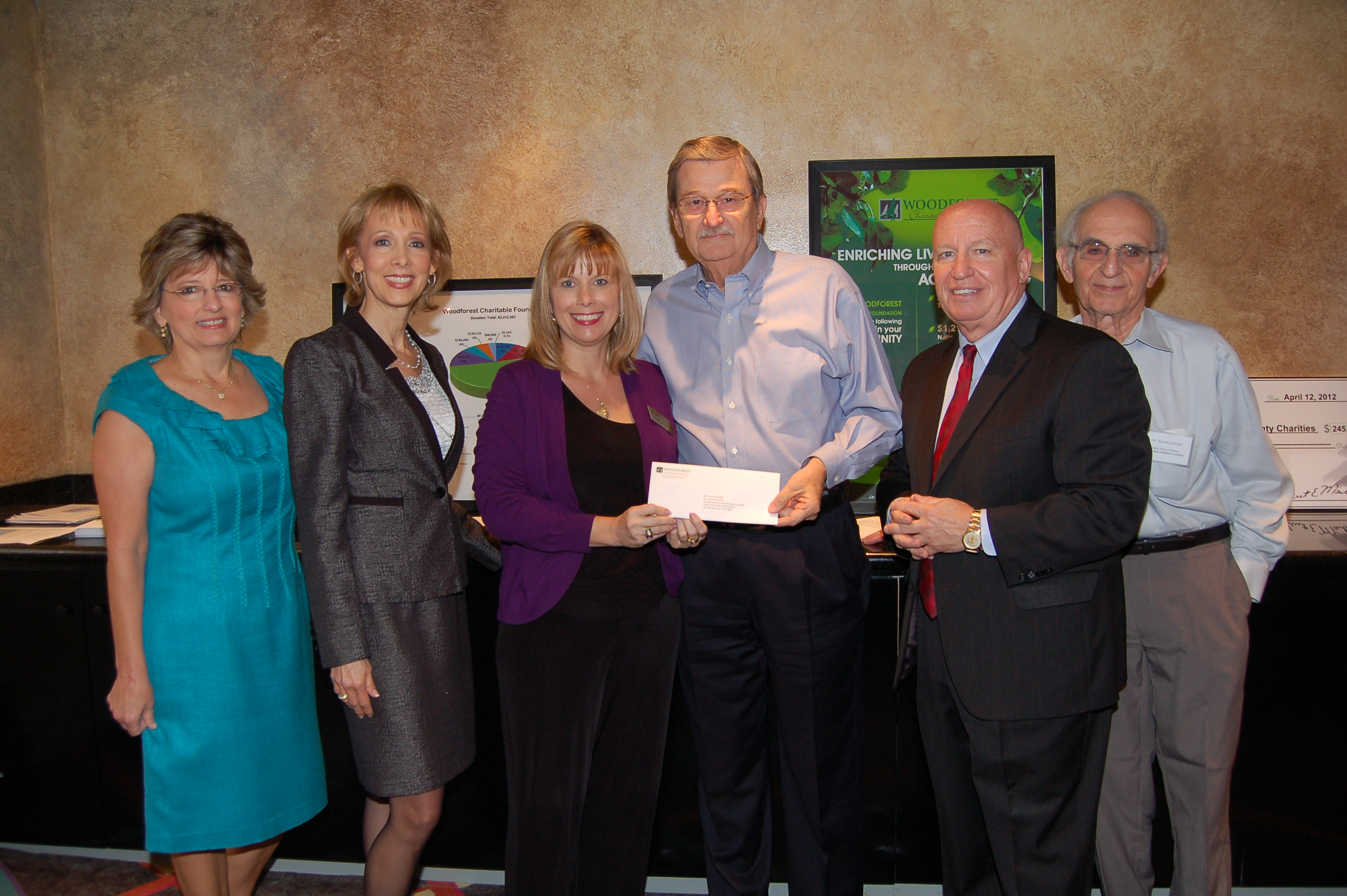 Montgomery County Women's Center receives $11,500 donation from WCF.