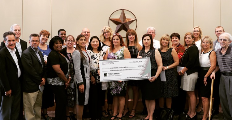 Woodforest Charitable Foundation recently donated over $1 million.