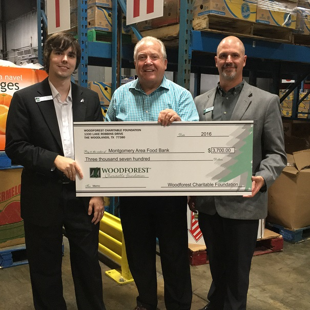 Montgomery Area Food Bank received $3,700 from WCF