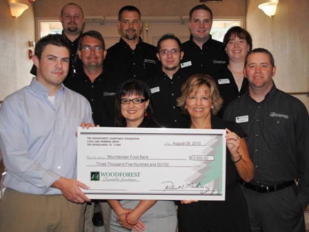 Mountaineer Food Bank Receives $3,500 Donation
