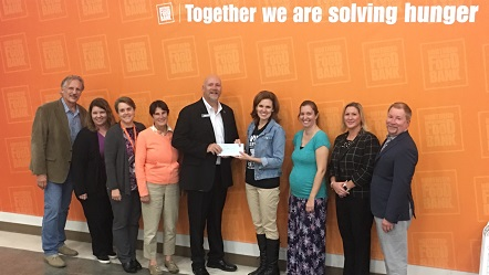 Northern Illinois Food Bnak received a $16,250 donation from WCF.