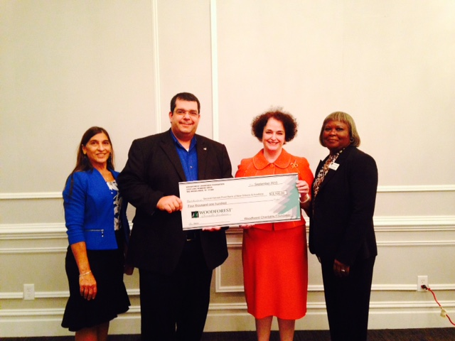 Second Harvest Food Bank of Greater New Orleans and Acadiana received $4,100 from WCF.