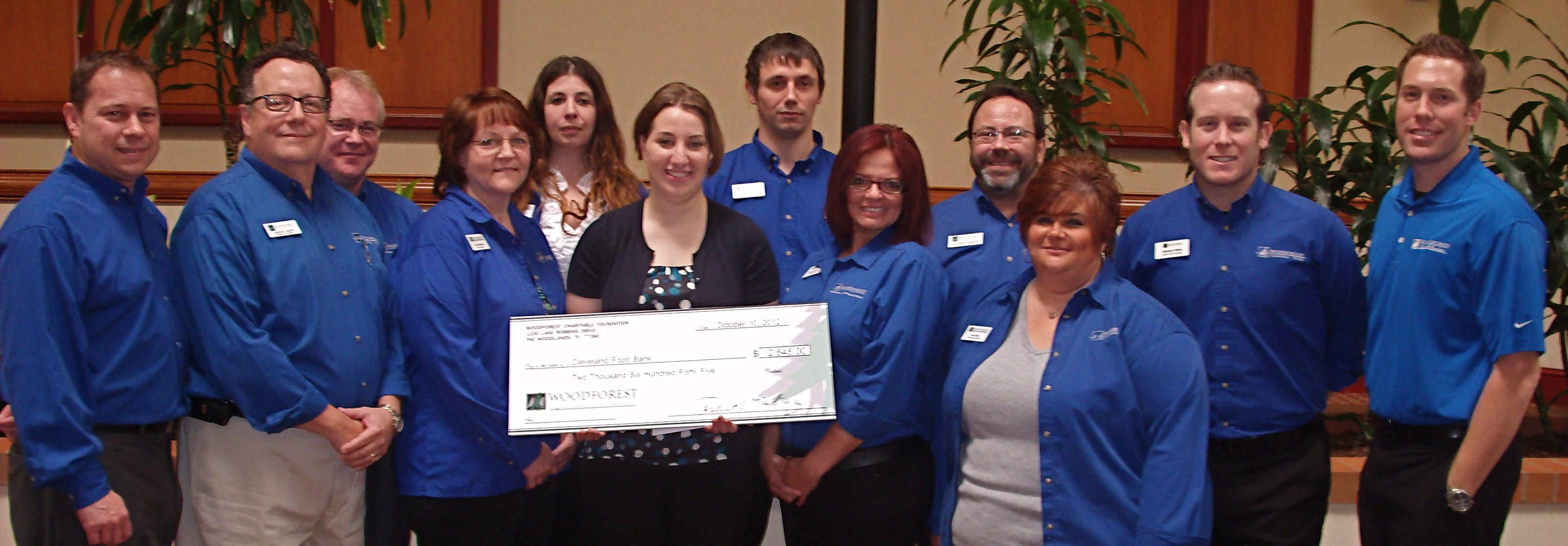 Second Harvest Food Bank of North Central Ohio receives $1,135 donation from WCF.